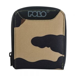 POLO Πορτοφόλι Wallet Zipper (9-38-108-camo)