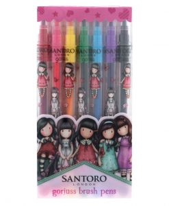Santoro Gorjuss Brush Pens 7 Χρώματα