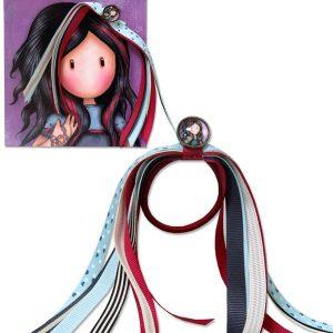 Santoro Gorjuss Κοκκαλάκι μαλλιών pulling on your heart strings (eb-02-g)